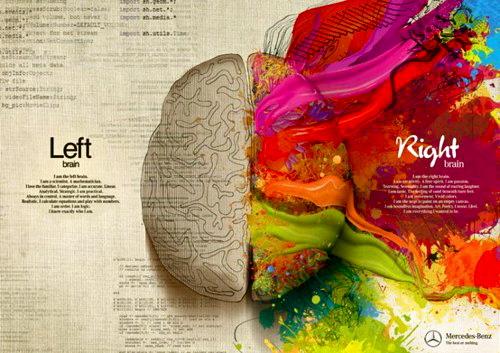 Høyre hjernehalvdel